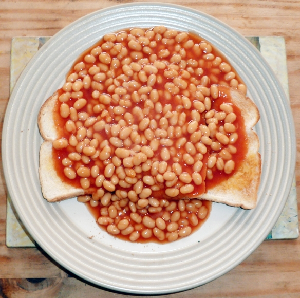 Beans on Toast. Really.