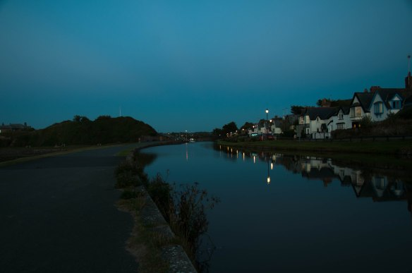 Irrelevant Photo #2: Bude Canal in the late evening light. Photo by Ida Swearingen