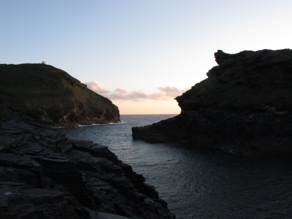Irrelevant Photo: Boscastle, Evening.
