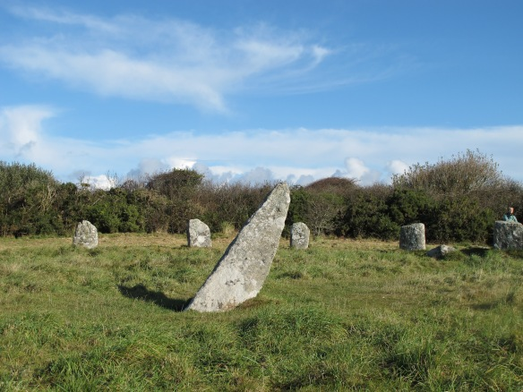 Irrelevant Photo: Boscawen Un, an ancient stone circle