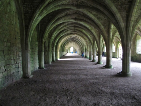 Irrelevant Photo: Fountains Abbey