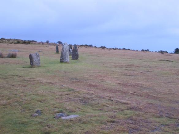 Stone circle at Minions