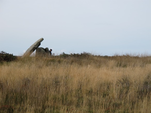 Irrelevant Photo: Mulfra Quoit, an ancient monument in West Cornwall