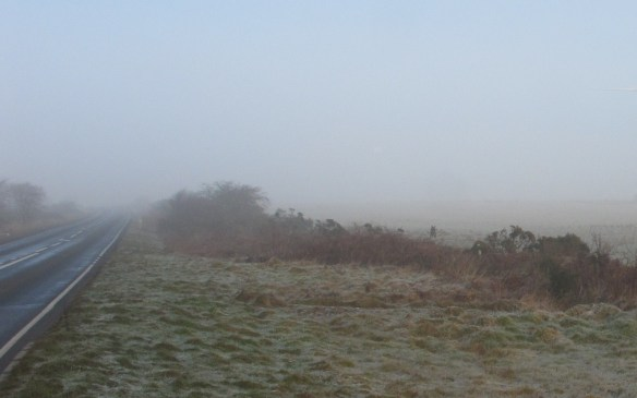 Irrelevant photo: freezing fog on Davidstow Moor.