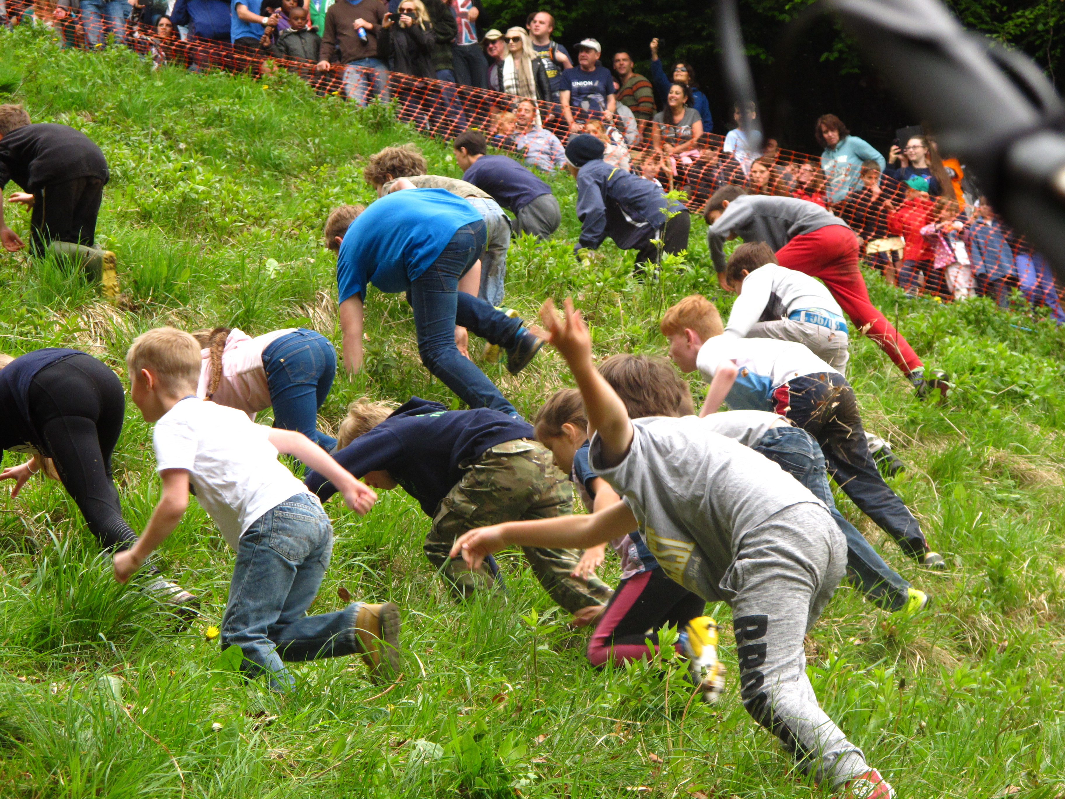 Image result for Cheese Rolling Festival Gloucester, England