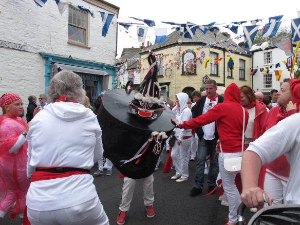 Padstow, Cornwall, May Day, 'Obby 'Oss