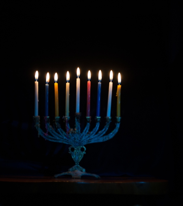 Sending you light in the darkness and good wishes for whatever you celebrate.