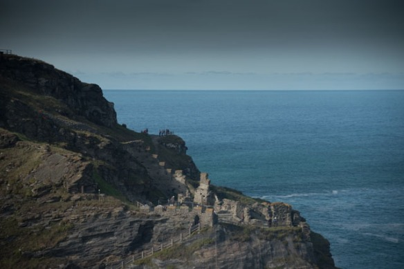 Irrelevant photo: Tintagel Castle. Photo by Ida Swearingen.